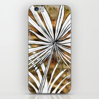 Golden Palm iPhone & iPod Skin