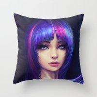 Twilight Sparkle Throw Pillow