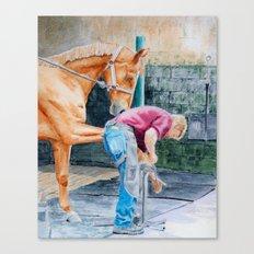 Farrier Canvas Print