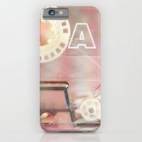iPhone & iPod Case featuring A-Side by Galaxy Eyes