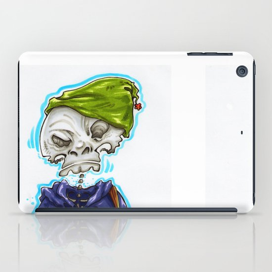 Skinny Skeleton Kid iPad Case