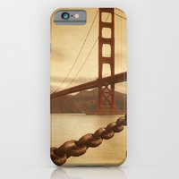 iPhone & iPod Case featuring Vintage Golden Gate by Philippe Sainte-Laudy