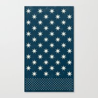 Star Dot Canvas Print
