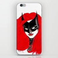 The Batwoman iPhone & iPod Skin