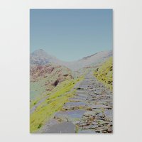 Chromascape 16 (Snowdon) Canvas Print