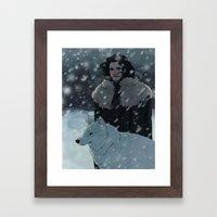 Jonsnow Framed Art Print