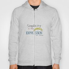 Expression-Whitman Quote Hoody