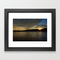 so let the light shine!  Framed Art Print