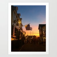 Clarke Cooke House at Sunset Art Print