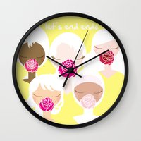 Let's End Endo - It's Ok… Wall Clock