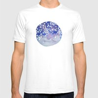 Stars In Your Eyes Mens Fitted Tee White SMALL