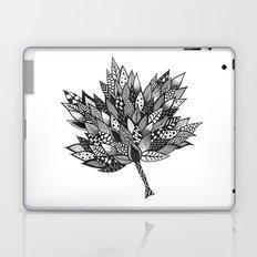 Zentangle Leaf Laptop & iPad Skin