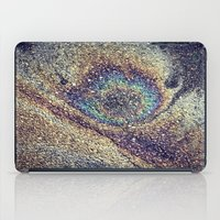 Peacock Oil iPad Case