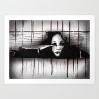 Trapped II Art Print