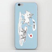 Go Away iPhone & iPod Skin