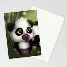 Baby Panda Bears Stationery Cards