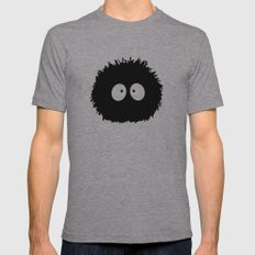Soot Ball - Susuwatari Mens Fitted Tee Athletic Grey SMALL