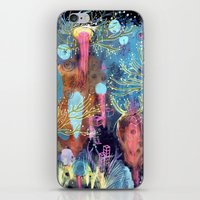 Space Hive iPhone & iPod Skin