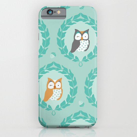 Sweet Owlies - Dusk iPhone & iPod Case