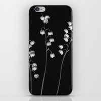 Lily of the Valley Noir iPhone & iPod Skin
