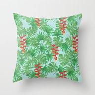Jungle Sky Throw Pillow