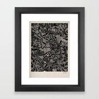 - modern - Framed Art Print