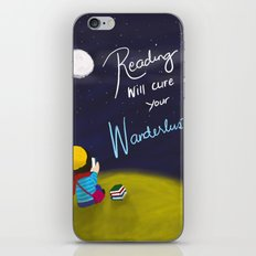 Reading Will Cure Your Wanderlust iPhone & iPod Skin