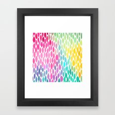 connections 6 Framed Art Print