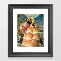 Afghan Winter Framed Art Print