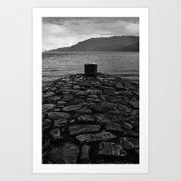 'Loch Ness Mooring' Art Print