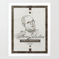 • Steve Jobs Dies • Art Print