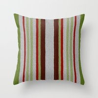 Knitted Colors - Digital Work Throw Pillow