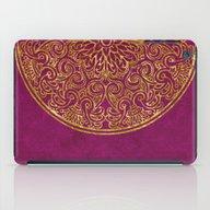 iPad Case featuring Purple Luxury by LebensART