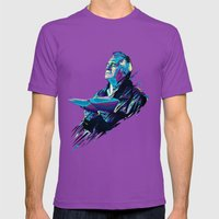 Paulie Walnut // OUT/CAS… Mens Fitted Tee Ultraviolet SMALL