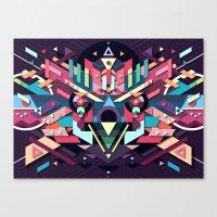 BirdMask Visuals - Sparrowhawk Canvas Print