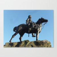 Statue  Canvas Print