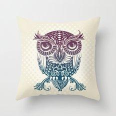 Baby Egyptian Owl Throw Pillow