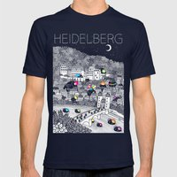 Locals Only - Heidelberg… Mens Fitted Tee Navy SMALL