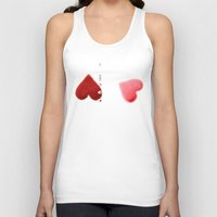 love train Unisex Tank Top