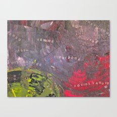 TOOTHSOME Canvas Print