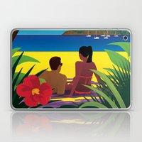 A Shaded Beach Laptop & iPad Skin