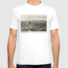 Melbourne City White SMALL Mens Fitted Tee