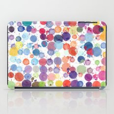 Watercolor Drops iPad Case