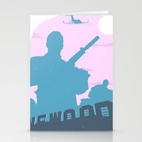 GTA V - MICHAEL DE SANTA Stationery Cards