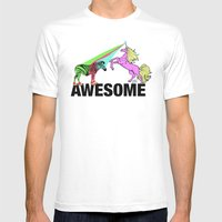 Awesome  Mens Fitted Tee White SMALL