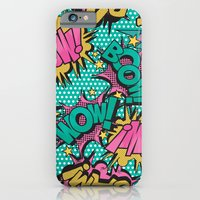 iPhone Cases featuring  Pink Comic Book by Season of Victory