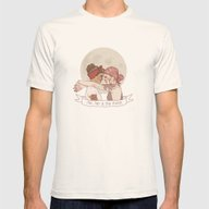 End Of The Day Mens Fitted Tee Natural SMALL