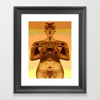 MUMMY HARVEST Framed Art Print