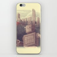 A City Snow-Bot iPhone & iPod Skin