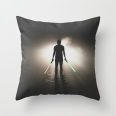 Fate of the Jedi Throw Pillow